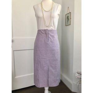 J. Crew Lavender Pencil Skirt